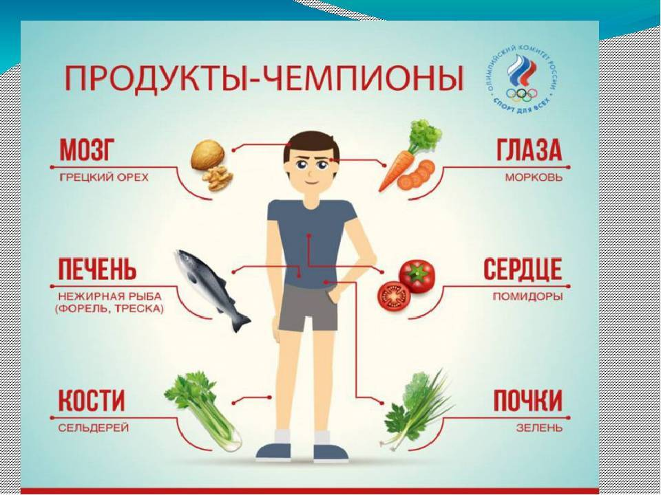Продукты для правильного питания и похудения – полный список, таблица