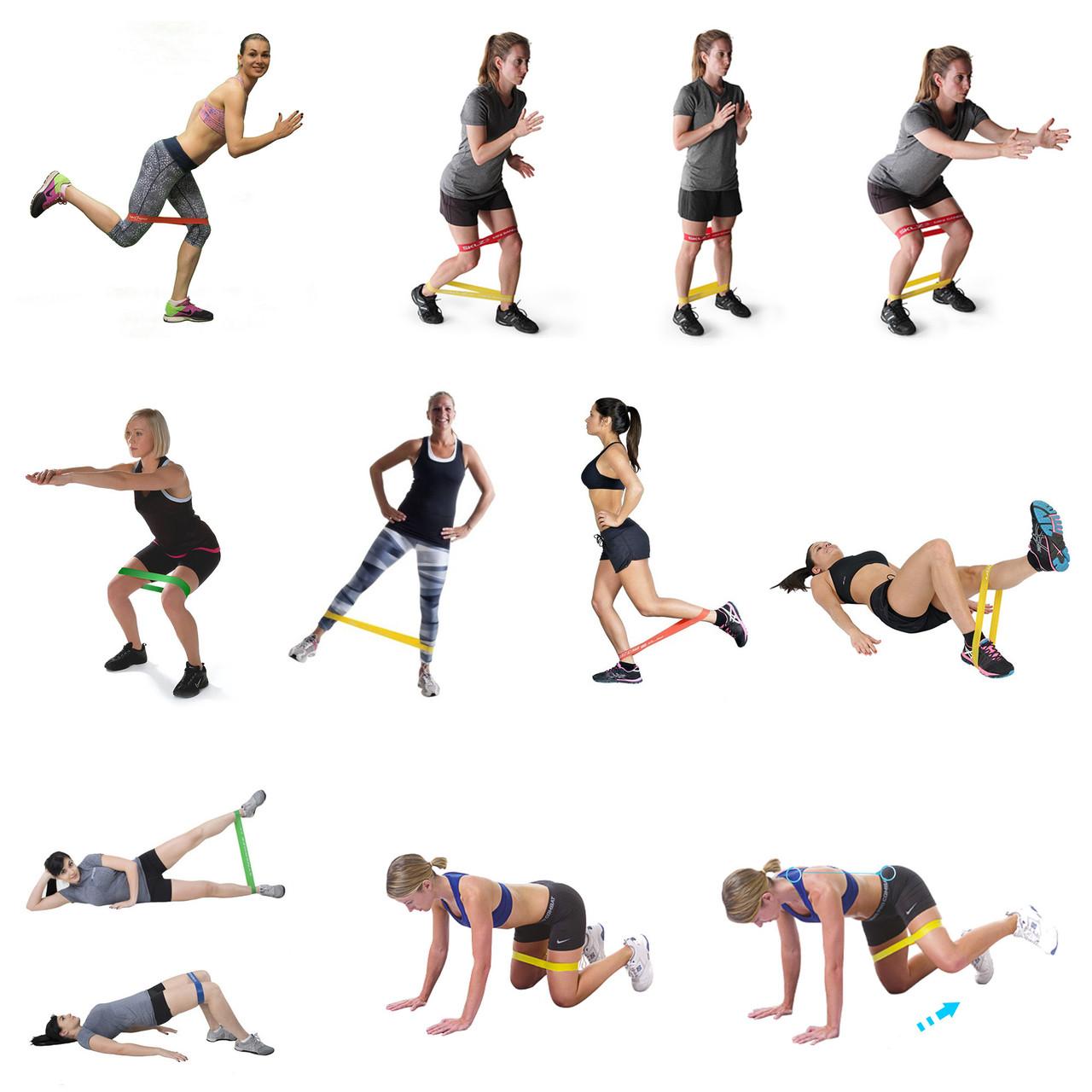 Топ-20 видео с фитнес-резинкой для всего тела (2019)