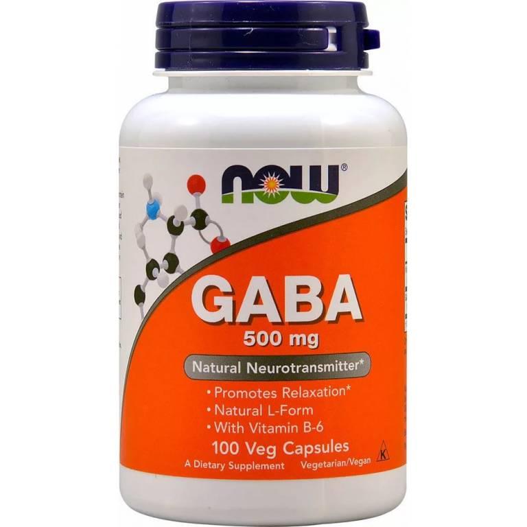 Gaba (гамк) и фенибут. в чём разница?