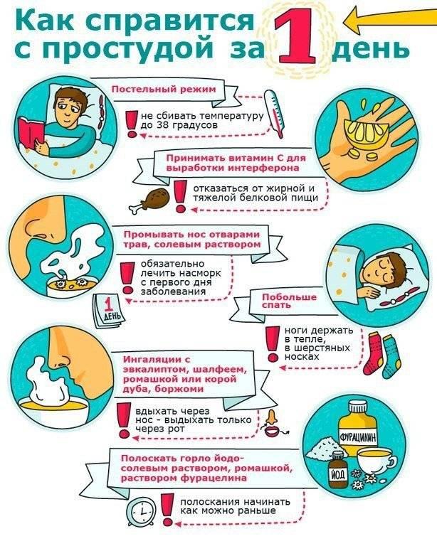 Лечение простуды быстро и эффективно в домашних условиях