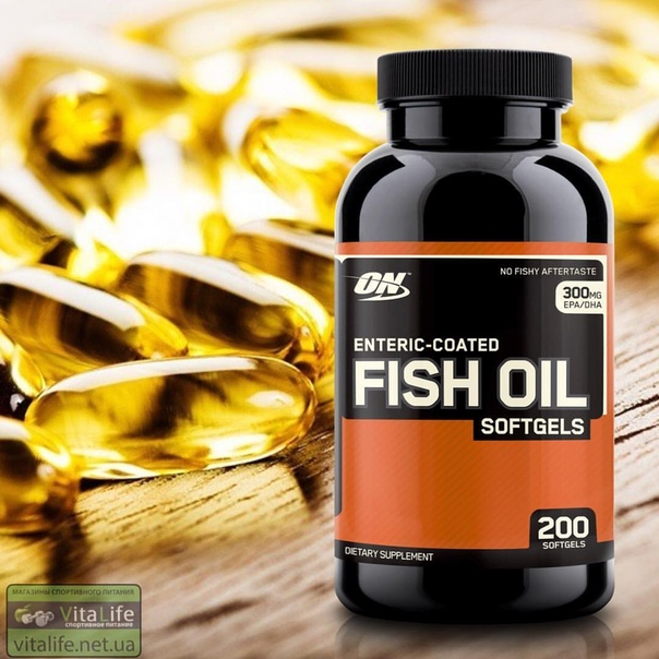 Enteric coated fish oil softgels 100 капс (optimum nutrition)