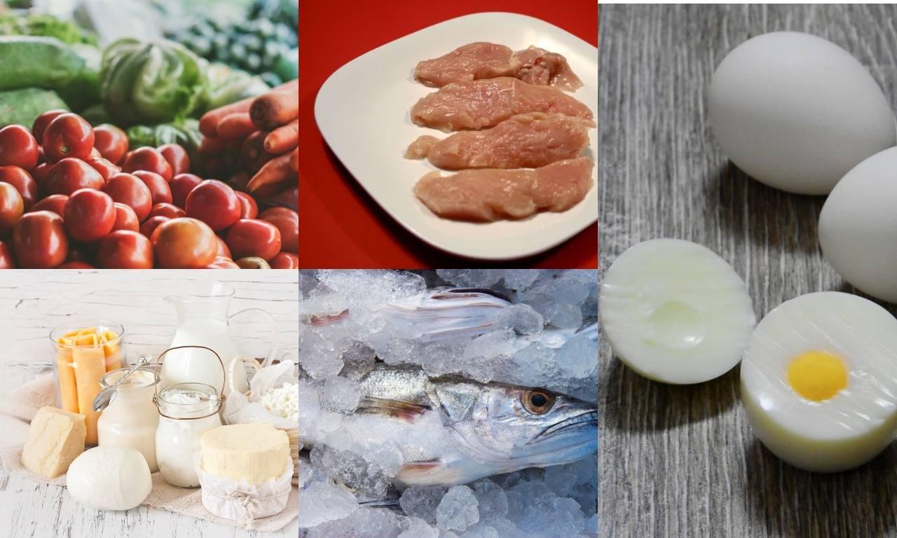Список продуктов для сушки тела для девушек