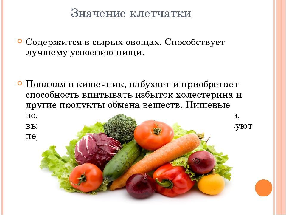 Сырые овощи для похудения — как есть правильно!
