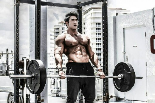 Чул сун – бодибилдинг корея, как тренируется, чем питается