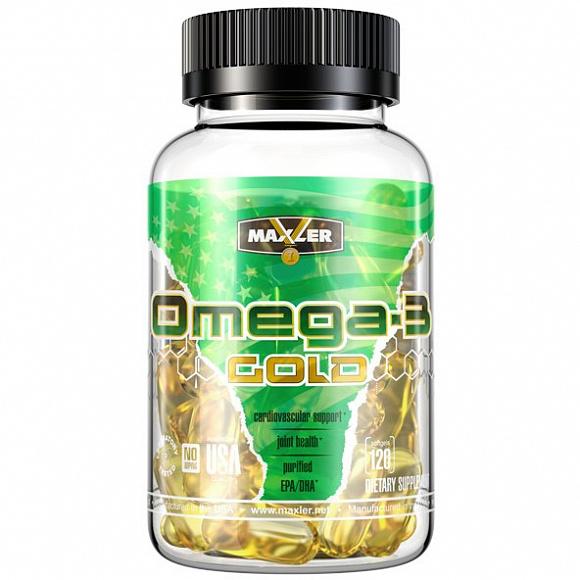 Omega-3 Gold от Maxler