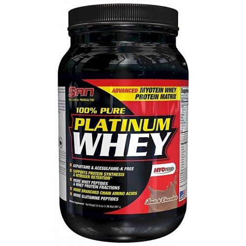 100% pure platinum whey от san: как принимать протеин, отзывы