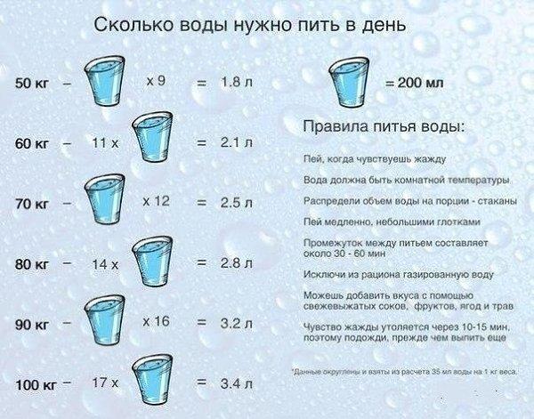 Сколько нужно выпивать воды в день? [полное руководство о воде]
