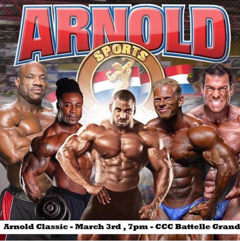 Арнольд классик 2008 (arnold classic) - результаты
