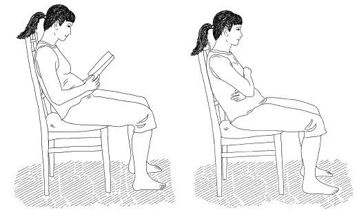 Последствия долгого сидения и упражнения от неподвижности