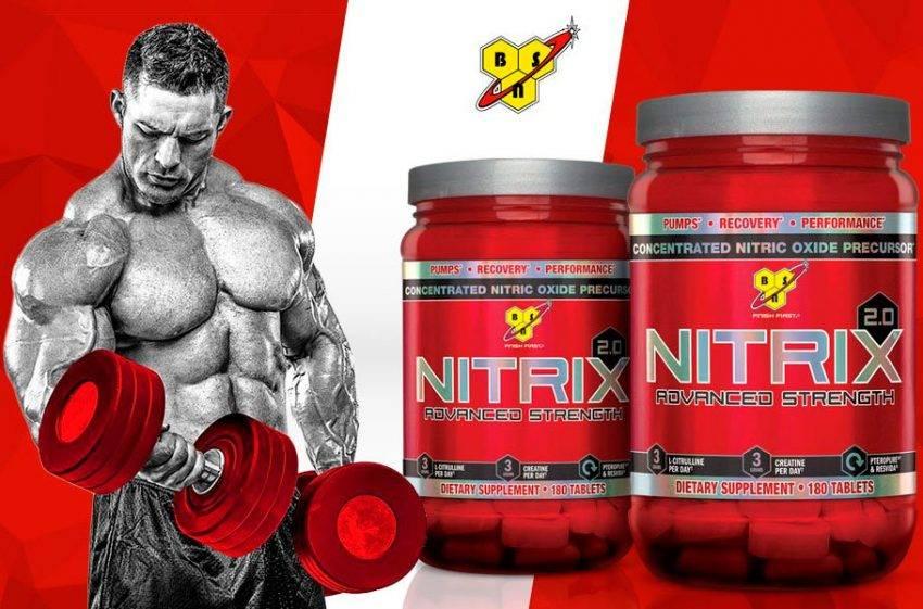Nitrix 2.0 180 табл (bsn) купить в москве по низкой цене – магазин спортивного питания pitprofi