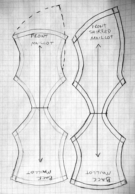 Купальник для фитнес бикини своими руками — мастер-класс с выкройкой