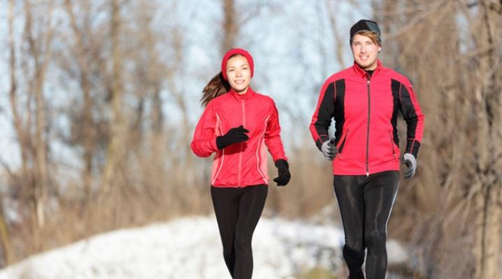 Одежда для бега зимой, как составить комплект с учетом погоды