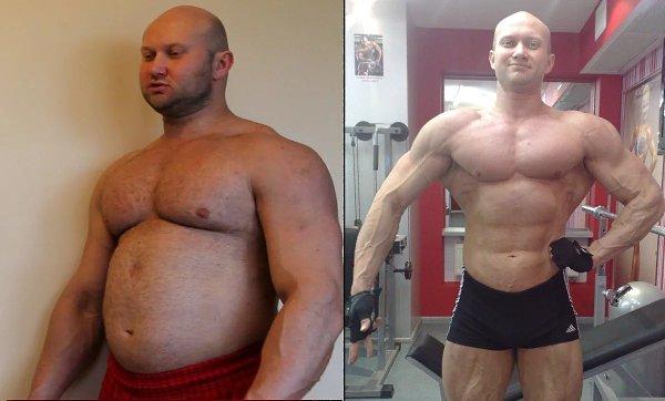 Как убрать жир и нарастить мышцы?