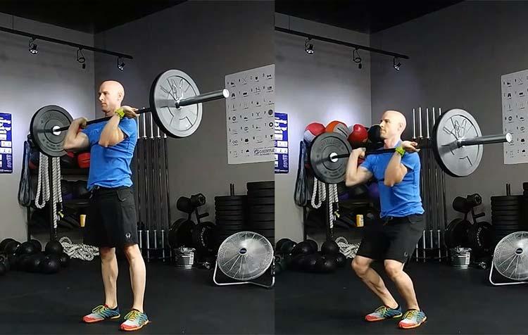 Толчковый швунг гантелей: работающие мышцы и техника выполнения