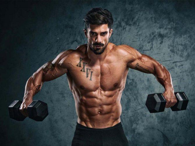 Тренер men's physique
