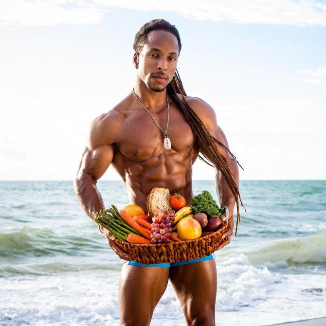 Вегетарианство и бодибилдинг » натуральный бодибилдинг