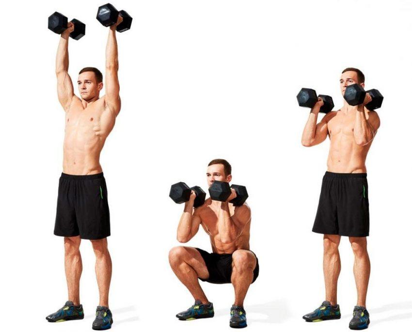Трастер: основные упражнения и техника исполнения. примечания и советы для атлетов