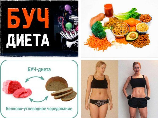 Буч диета. белково углеводное чередование для похудения: меню, рецепты, результаты, отзывы