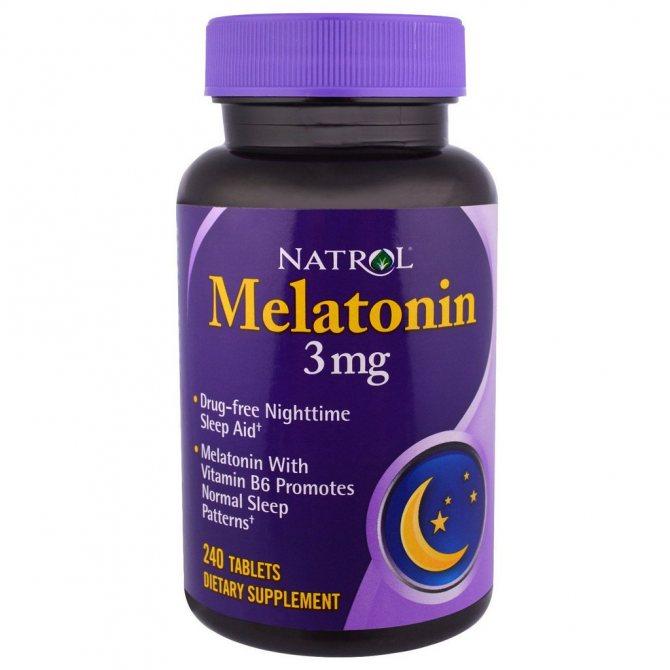 Мелатонин – инструкция по применению, цены и отзывы