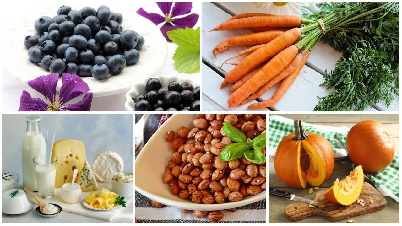 Что полезно для глаз и зрения (продукты, витамины, упражнения)