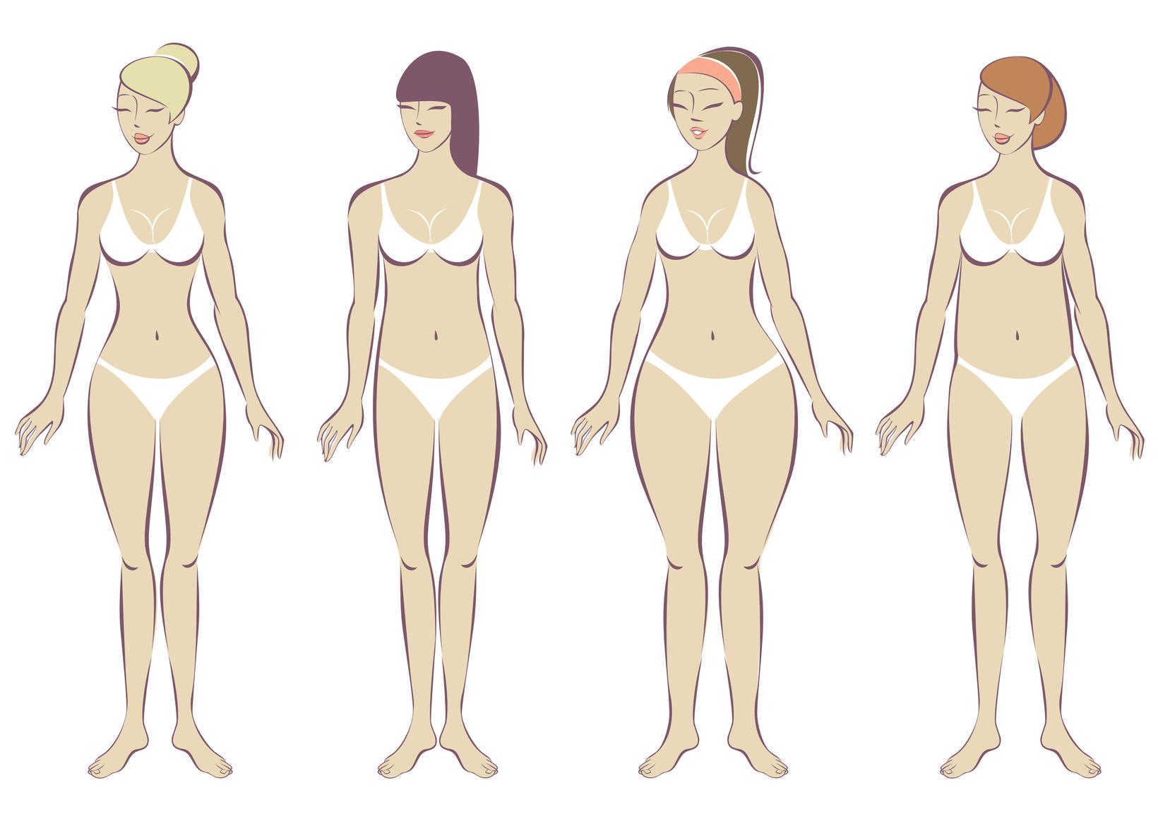 Выкройка основа и типы женских фигур. формулы для большого размера ||  1.4-1.5.