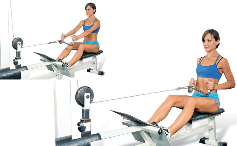 Лучшие упражнения на блочных тренажерах, 10 эффективных упражнений