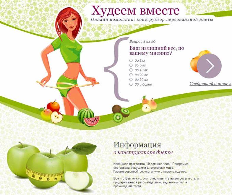 » как похудеть без диет