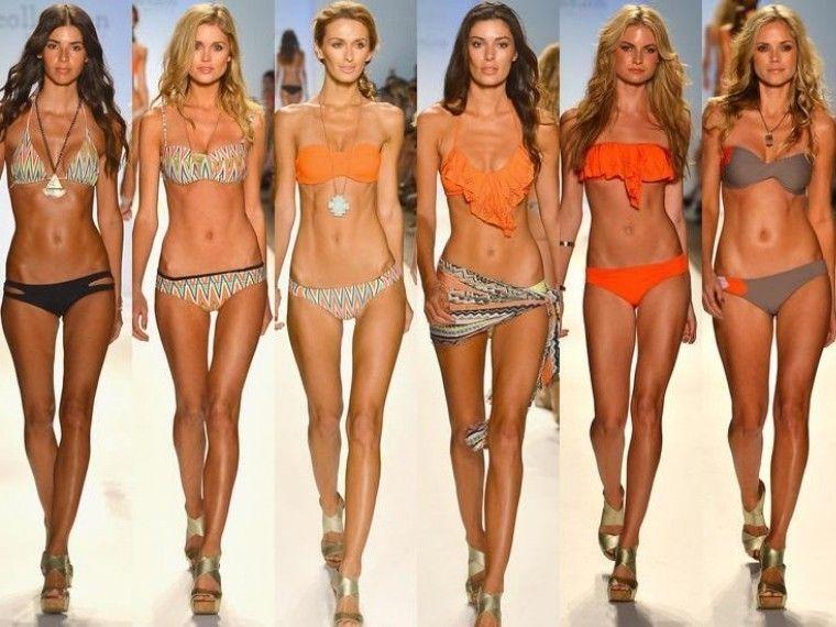 Почему на подиум выходят только худые модели, если в жизни фигуры другие