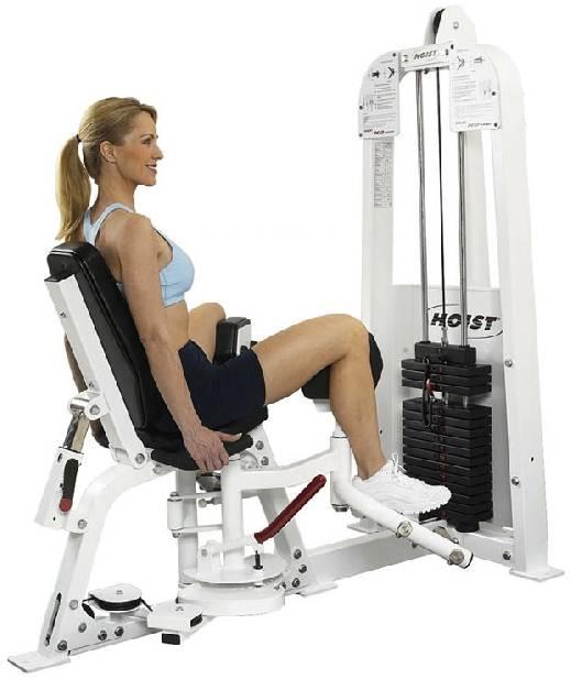Сведение ног в тренажере - упражнения, техника выполнения, чем заменить