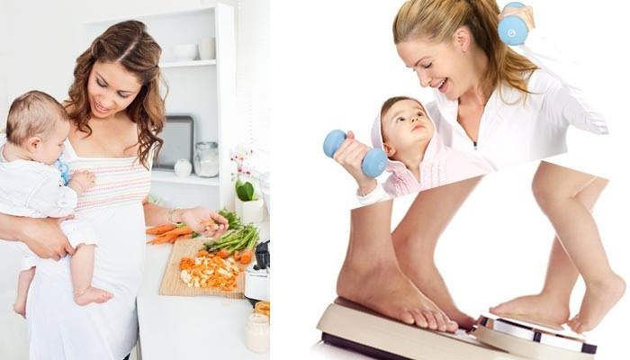 Как похудеть после родов. программа похудения: 10 правил