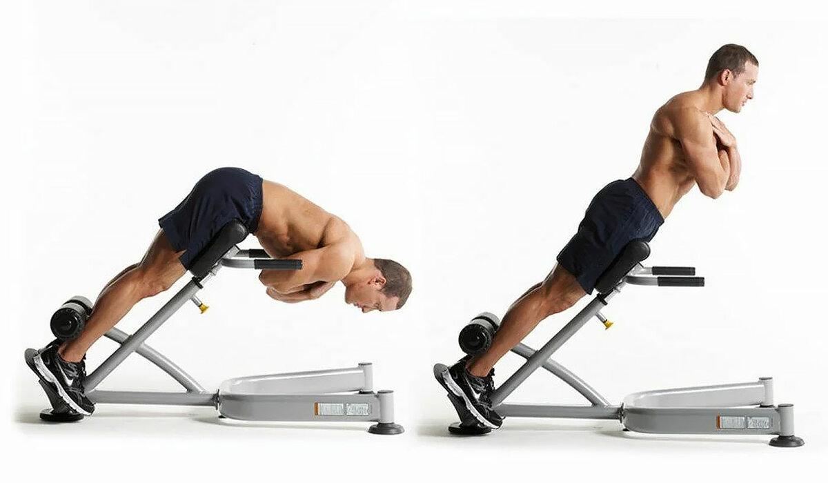 Упражнения с осевыми нагрузками на позвоночник