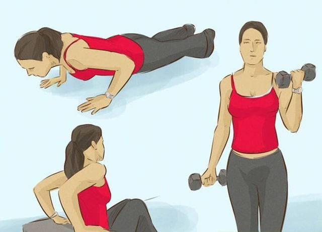 Как убрать жир с рук и плеч в домашних условиях: упражнения для быстрого сжигания жира