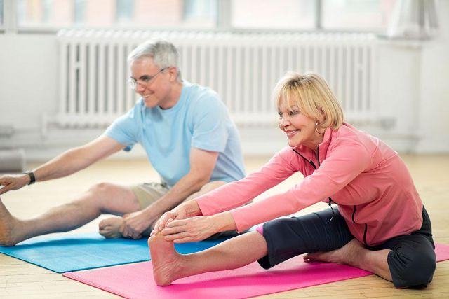 Гимнастика для коленных суставов - оздоровление опорно-двигательного аппарата