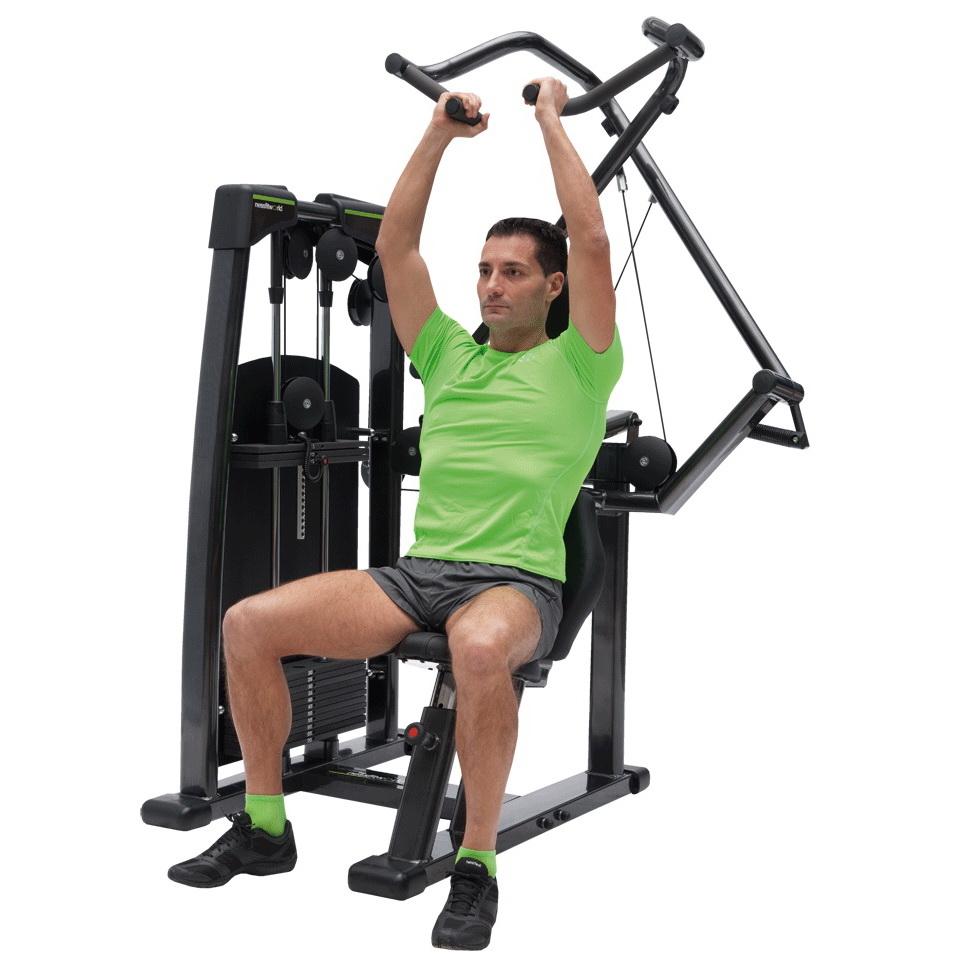 Жим штанги стоя (армейский жим): техника выполнения, какие мышцы работают