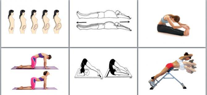 Живот после родов: когда уходит, упражнения, диета / mama66.ru