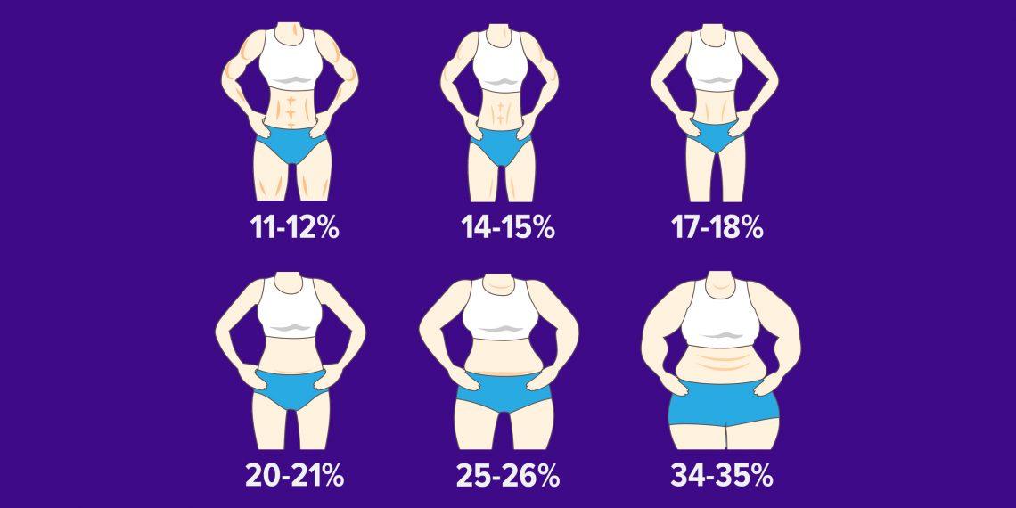 Руководство: сколько жира должно быть в организме женщины?