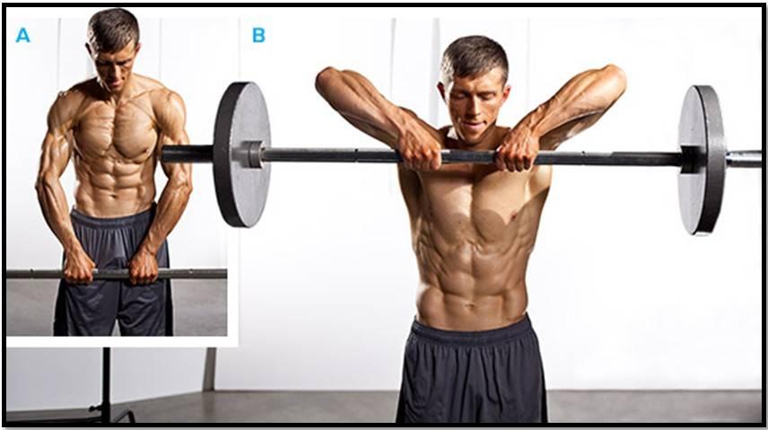 Тяга к подбородку: тренируй свои плечи правильно