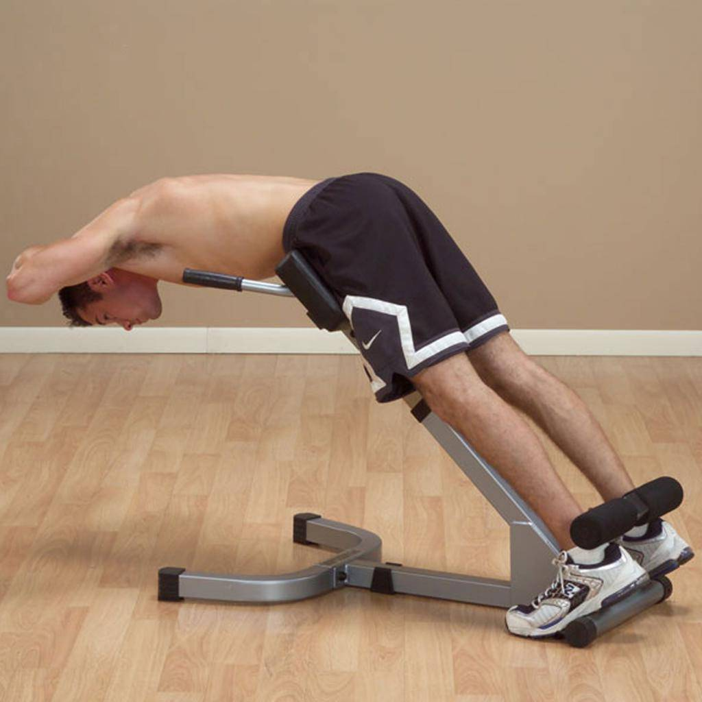 Гиперэкстензия. техника выполнения и основные достоинства упражнения