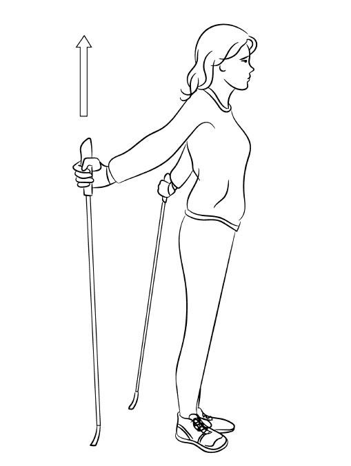 Скандинавская ходьба с палками польза и вред