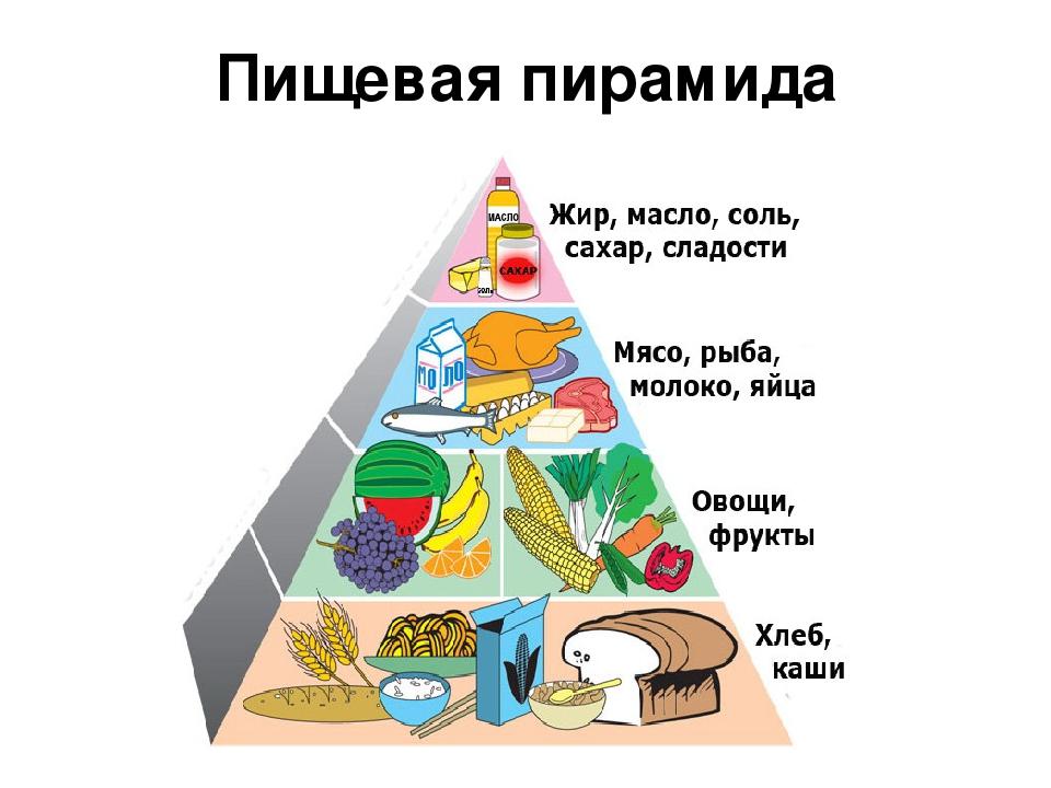 Из чего состоит пирамида здорового питания | клиника эксперт