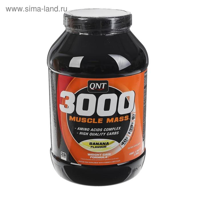 Muscle mass 3000 от qnt: как принимать, состав и отзывы
