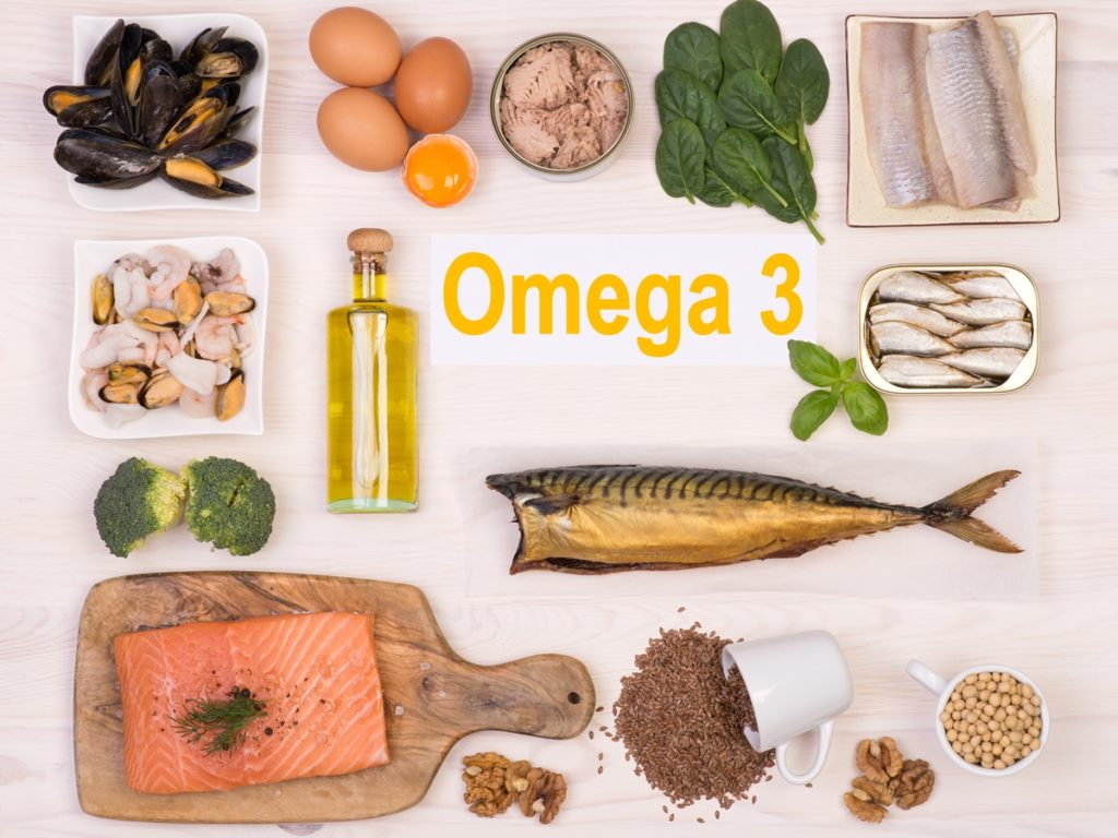 Омега-3 + продукты богатые омега-3