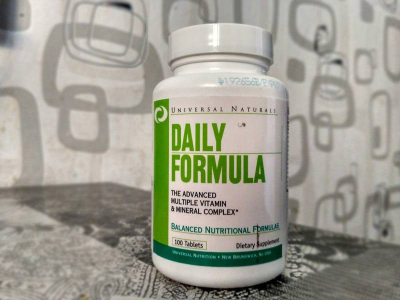 Витамины «дейли формула» (daily formula): состав, инструкция по применению, отзывы