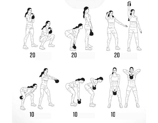 4 тренировки с гирями для начинающих – зожник 4 тренировки с гирями для начинающих – зожник