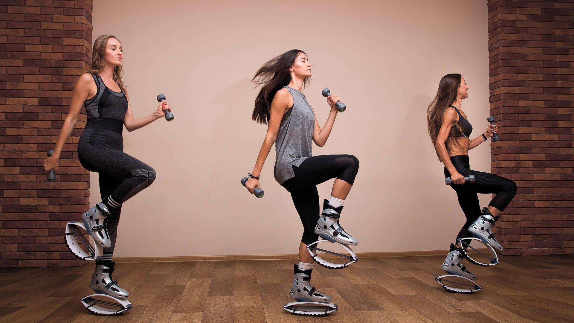 Кенгу джампс для похудения и поддержания формы, преимущества, перечень программ