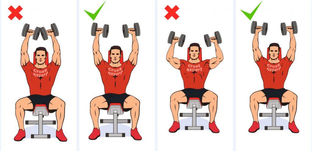 Важные рекомендации по освоению жима арнольда, преимущества упражнения
