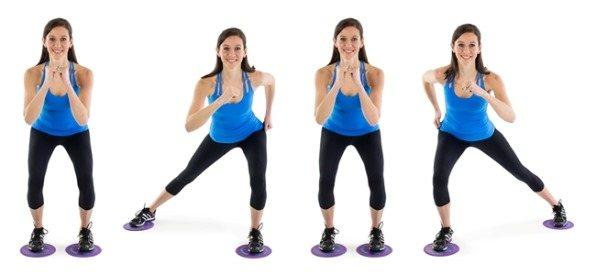 Глайдинг фитнес с глайдинг дисками - отличное решение для тех, кто хочет поддержать свою фигуру в форме