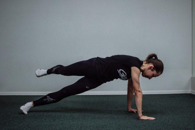 Упражнение планка: какие мышцы работают и укрепляются