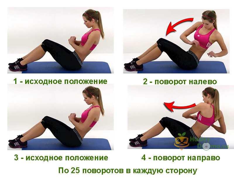 Простые упражнения, чтобы убрать живот и бока в домашних условиях - гимнастика для женщин и мужчин