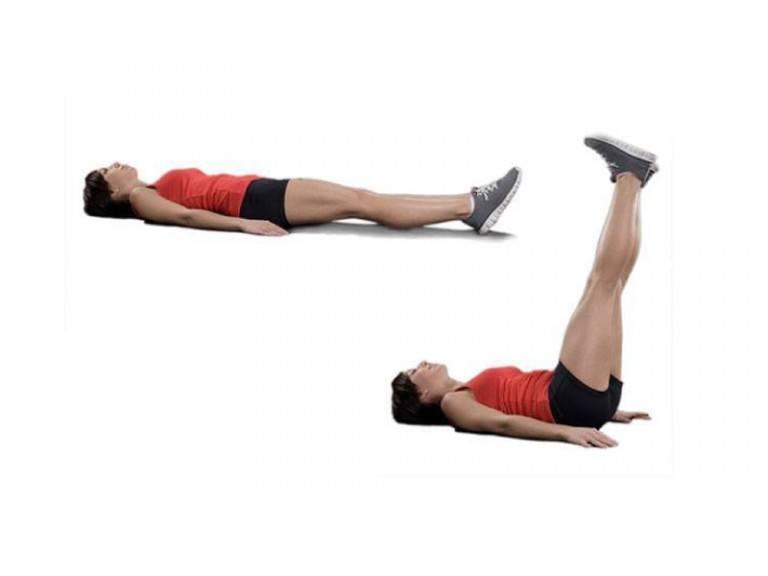 Упражнения для пресса лежа на спине. подъемы ног лежа на полу – упражнение на пресс для любого уровня подготовки. правила выполнения подъема ног